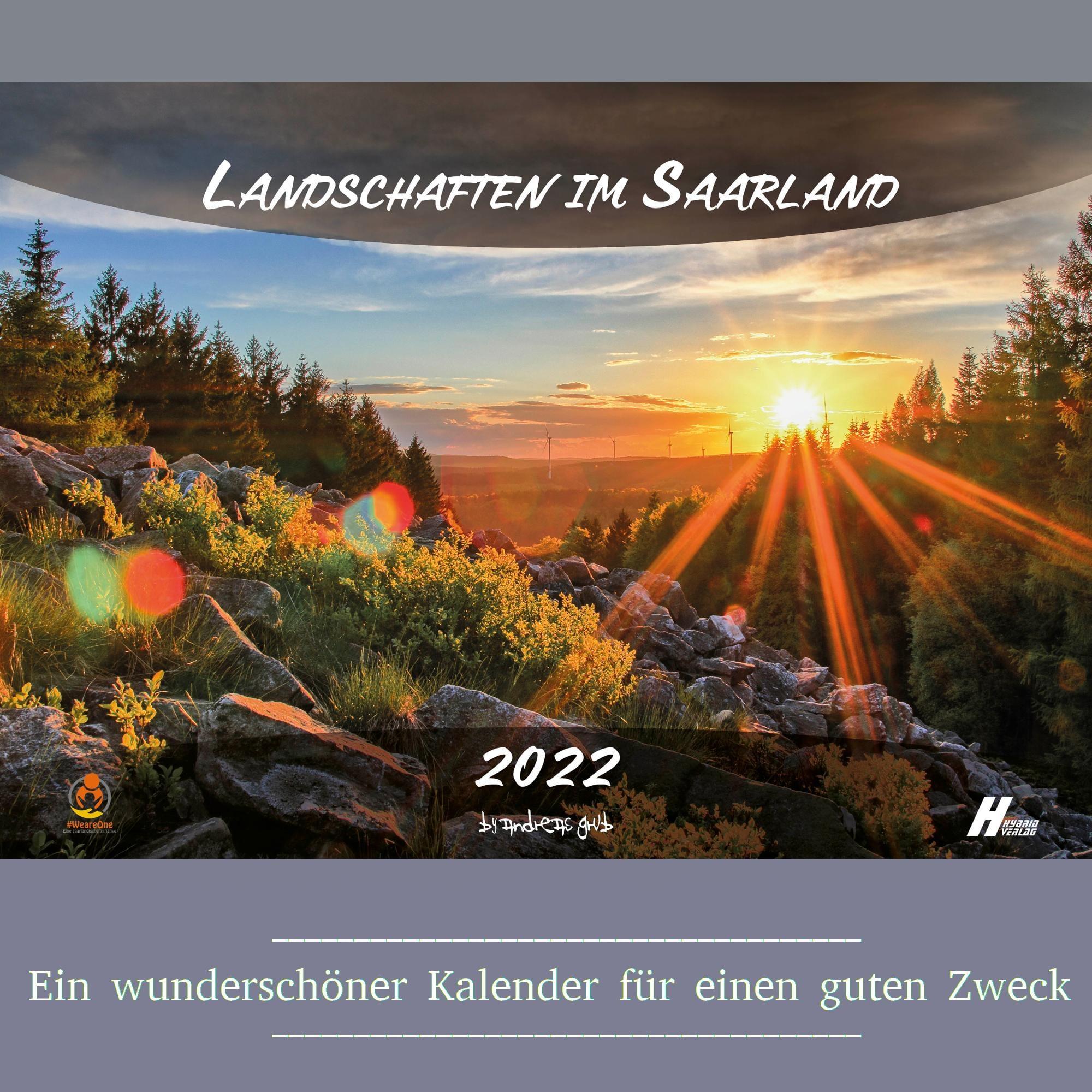 Der Saarland Kalender 2022